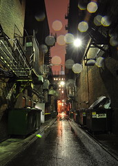 Alley Drizzle photo by Mike Cialowicz
