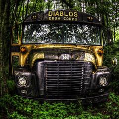 THE DEVIL'S DRUMMERS BUS photo by tim heffernan