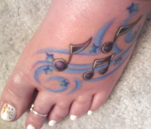 small tattoos. Photo of Small Tattoos On Feet