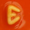 spaghetti letter E