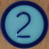 Colour Bingo blue number 2