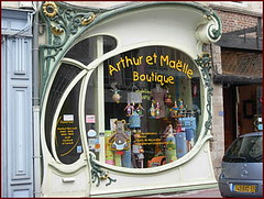 art nouveau shop window photo by april-mo
