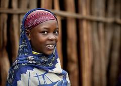 Borana tribe girl Ethiopia photo by Eric Lafforgue