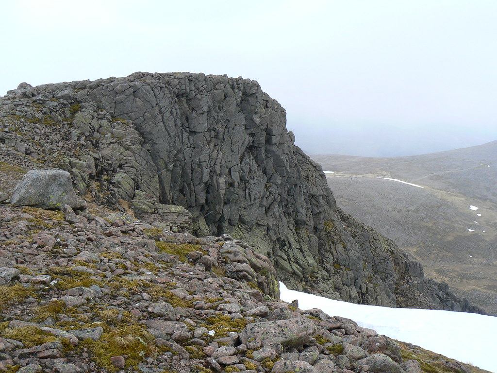 Buttress above Core Sputan Dearg