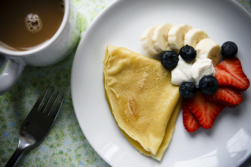 Cornmeal Crepes of Bliss