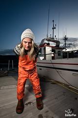 Birna Rán the sailor chick photo by Baldur Pan
