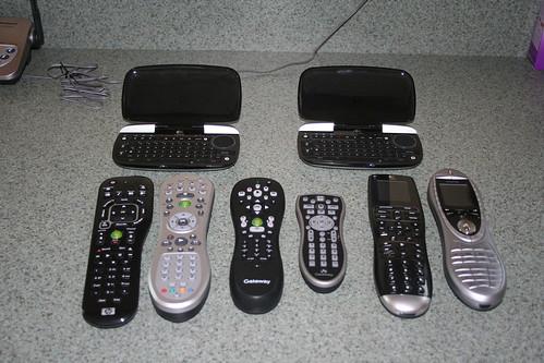 Remotes, remotes, remotes...