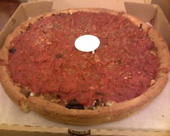 Little Star in San Francisco - deep dish pizza