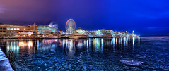Navy Pier Panorama - Mark your seat on the ferris wheel with a note! photo by kern.justin