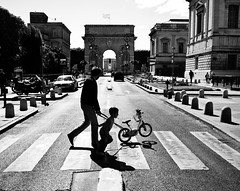 father and son // montpellier (southfrance) photo by pamela ross