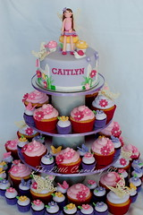 Caitlyn's Fairy Birthday Cupcake Tower photo by TheLittleCupcakery