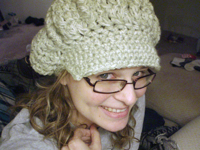 Newsboy Hat Crochet Pattern | Red Heart - Red Heart Yarn | Yarn