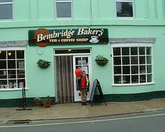 2002 05 11 06 Bembridge Bakery + James 2 photo by IoW_Sparky (off line - again)
