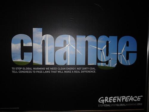 Change - GreenPeace
