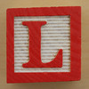 Educational Brick Letter L