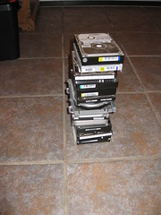 Old hard drives