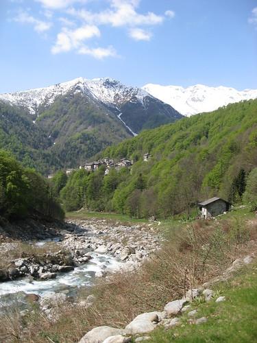 Verso Alpe Valdescola