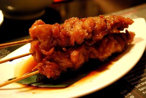 Yakitori grilled chicken £3.75