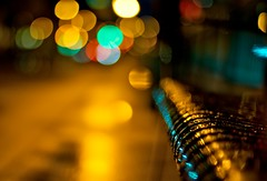 City Bokeh photo by Daniel Sanculi