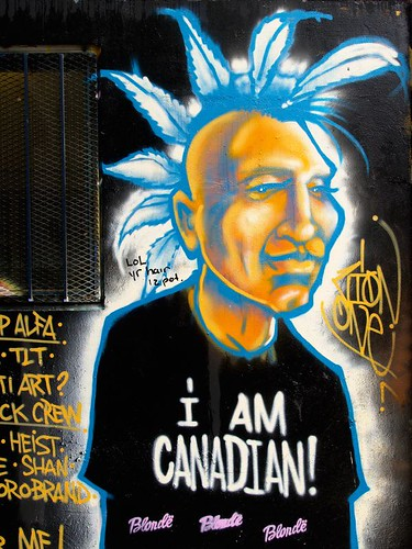 Toronto Graffiti photo by Meerkat Thunderpants