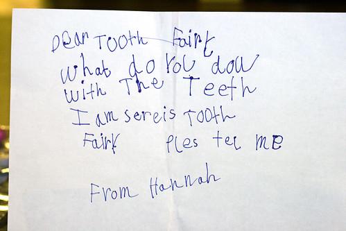 Hannah's Note