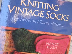 vintage socks book