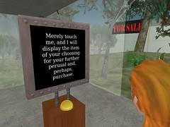 A polite notice