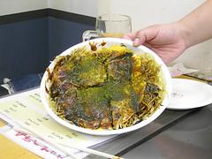 Okonomiyaki, process 10