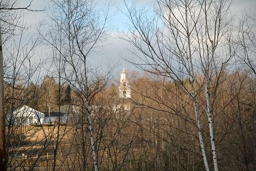 church steeple, view 1