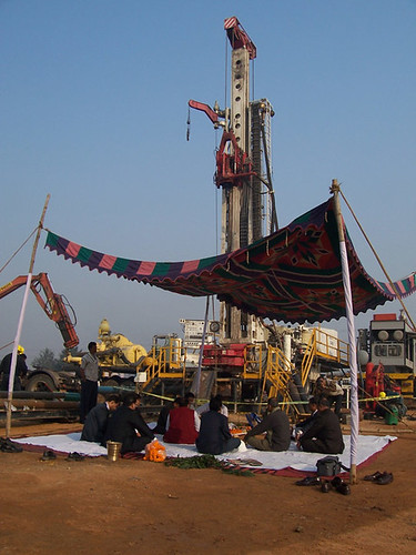 Rig Blessing Ceremony