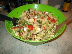 Couscous salade van de Frannies