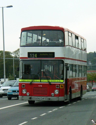 174 G640CHF Plymouth Citybus.