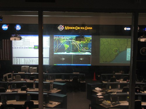 Space Shuttle Mission Control Center