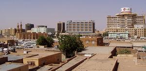 وسط مدينة الخرطوم