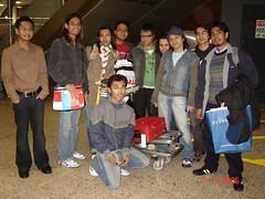 Bersama Farid & Manap kat Dublin Airport