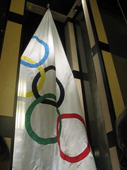 1952 Oslo Winter Olympic flag