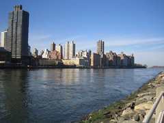 East side of Manhattan from Roosevelt Island
