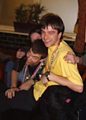 Very blurry - Steve, Chris and Sam