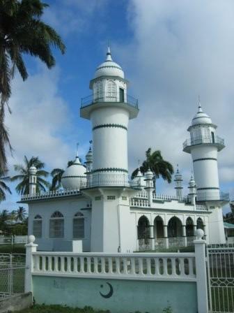 mosque in bushlot, Guyana