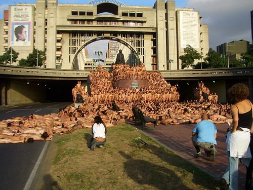 spencer tunick venezuela