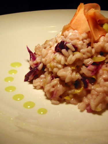 Wasabi Risotto with Daikon & Pickled Ginger (by Abstract Gourmet)