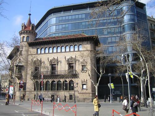 Edificio de La Diputació de Barcelona