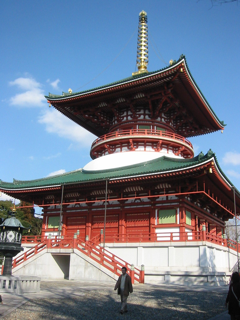 The peace pagoda, Shinshoji temple, Narita
