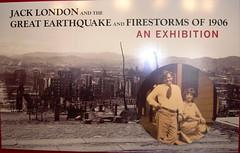 Jack London exhibit