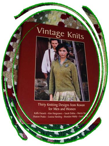 rowan's vintage knits book