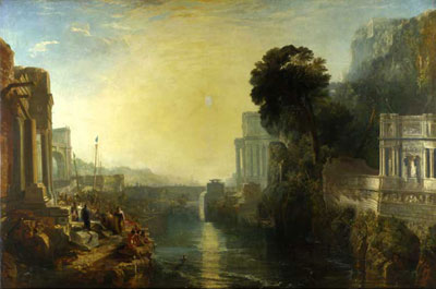 Dido Buiding Carthage, or The Rise of the Carthaginian Empire by Turner - National Gallery, London