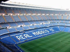 Stadium Santiago Bernabéu Real Madrid, Madrid, Spain