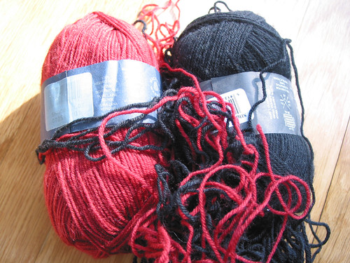 Frogged first attempt at second Norwegian Hat