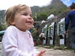 Adeline at Machu Picchu