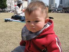 Kawaguchi hanami daytime #3 (Marcus in pensive mood)